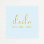 「iloilo」スイーツショップ ロゴ&ショップカード作成