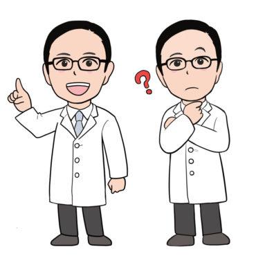 総合病院 ドクター キャラクター作成(似顔絵)